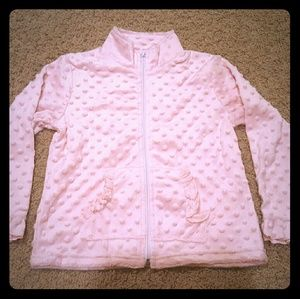 Other - Boutique Minky Jacket Pink 5/6