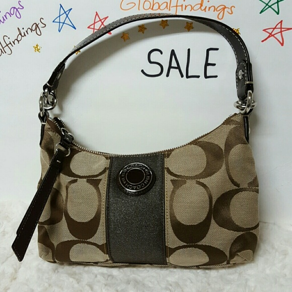 Coach Handbags - Coach Signature Handbag F1220-F19218 5ed02aaffc9ec