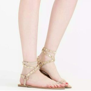 Shoes - *New Ring Pop Wraparound Toe strap studded Sandals