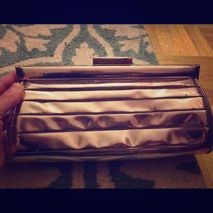 Anya Hindmarch Handbags - Anya Hindmarch London Gold Clutch Retail: $599