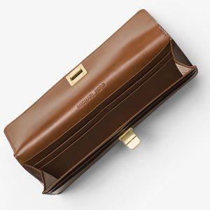 e58c1a5aa036 Michael Kors Bags | Brand Nwt Mk Natalie Heritage Signature Wallet ...