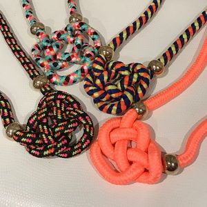 New Knotted Cord Necklace
