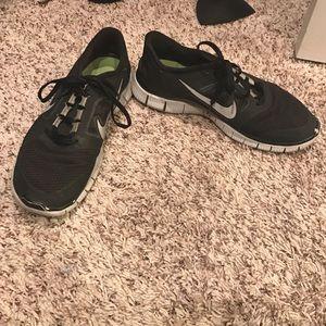 Nike Shoes - Black Bike Free Runs