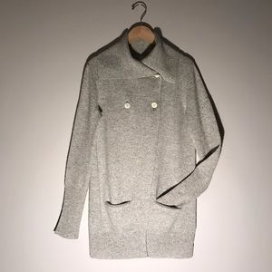 J. Crew Sweaters - J. Crew Light Gray Cashmere Cardigan