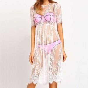 Other - Lace beach coverups