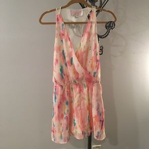 Rory Beca Pants - Cotton candy romper