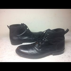 Gordon Rush Other - GR BY GORDON RUSH MEN'S BLACK ANKLE BOOTS SIZE 12