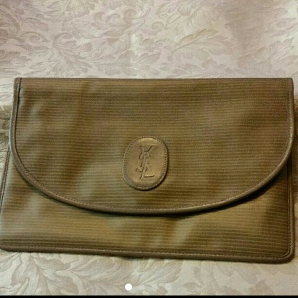 ba93ff68a32 Yves Saint Laurent YSL Vintage Clutch. M_58a9717cd14d7b95f313afe6. Other  Bags ...