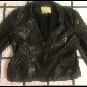 3.1 Phillip Lim Jackets & Blazers - 3.1 Phillip Lim cropped leather jacket SZ 10