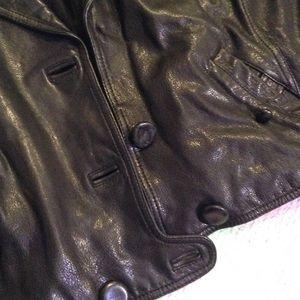 3.1 Phillip Lim Jackets & Coats - 3.1 Phillip Lim cropped leather jacket SZ 10