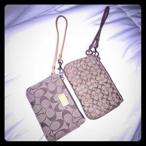 Coach Handbags - Authentic coach wristlets