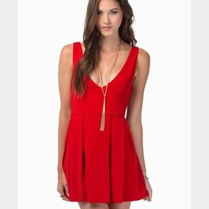 Tobi Dresses & Skirts - Red Tobi Dress (S)