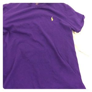 Polo by Ralph Lauren Other - Size small Polo Ralph Lauren purple t shirt
