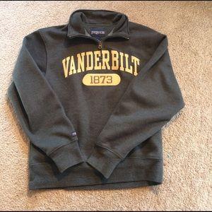 Jansport Tops - Vanderbilt Quarter Zip