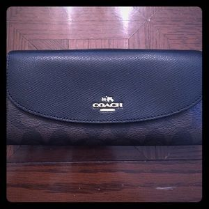Coach Handbags - Coach large wallet never used