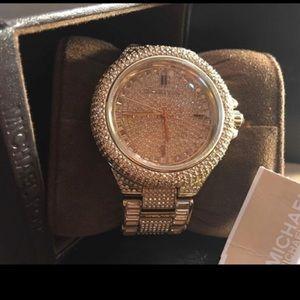 Michael Kors Accessories - 💎⌚️Michael Kors⌚️💎Camille Gold Tone Watch