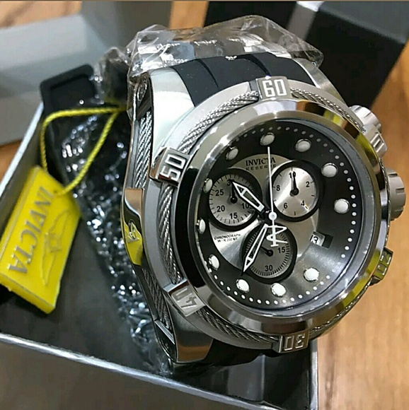 78e3a438c Invicta Accessories | Nwt Mens Bolt Zeus Chronograph Watch | Poshmark