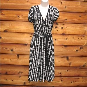 Donna Morgan Dresses & Skirts - Donna Morgan Faux Wrap Jersey Dress