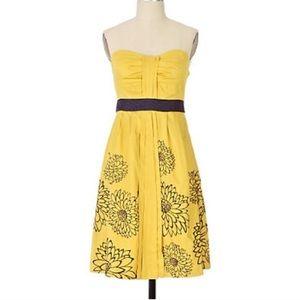 NWOT Anthropologie Floreat Ile Royale Dress SZ 0