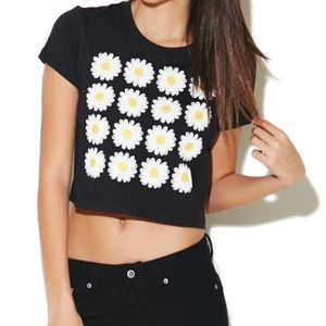 UrbanOutfitters Daisy Crop Top