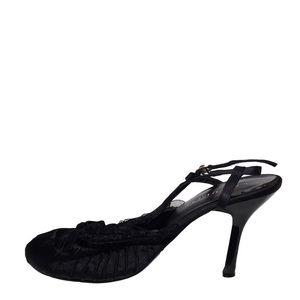 Wild diva closed toe high heel sandals size 7