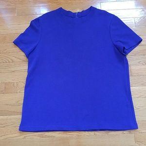 St John zipper back shirt.