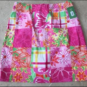 Lilly Pulitzer Dresses & Skirts - ✨Lilly Pulitzer✨New Simple multimixer skirt Patch