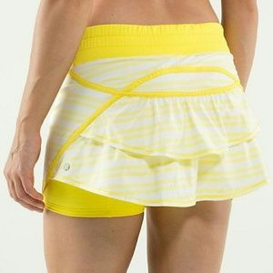 lululemon athletica Dresses & Skirts - Lululemon Run: TRACK ATTACK Skirt