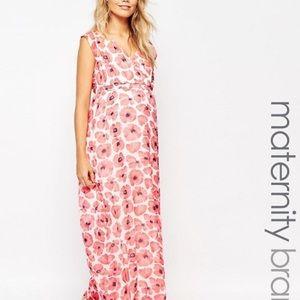 Mama Licious Dresses & Skirts - mamaliscious maxi maternity dress