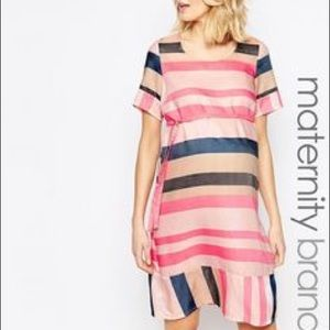 Mama Licious Dresses & Skirts - NEW WITH TAGS Mama licious striped maternity dress