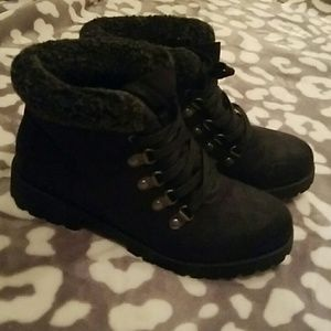 White Mountaineering Shoes - Never worn fleece lined ankle boots