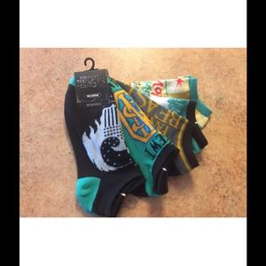 Bioworld Other - 5 pack fantastic beasts no show ankle socks