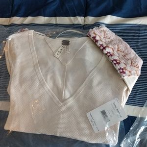 Free People Tops - NWT 3 Free People Art School Waffle Knits