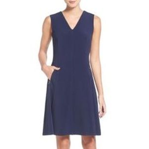 Woman's Halogen Knit Fit & Flare Dress