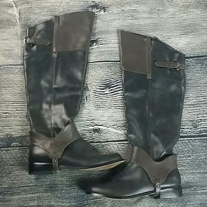 Restricted Shoes - Restricted Leather Derby Riding boots 8.5