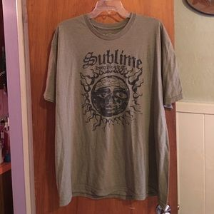 Hot Topic Other - Sublime t-shirt sz XXL
