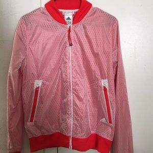 Adidas Jackets & Blazers - Adidas windbreaker with slit in back