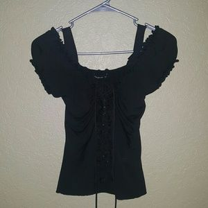 PattyBoutik Tops - Cute Black Top
