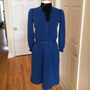 ciao  Dresses & Skirts - Vintage wool belted dress