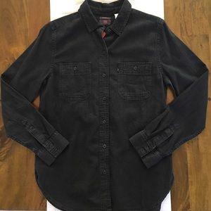 Evereve Tops - Evereve, Levi's Workwear Woven Boyfriend Shirt.