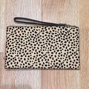 Aimee Kestenberg Handbags - New Leather leopard clutch Aimee Kestenberg