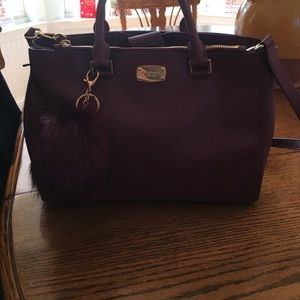 Michael Kors Handbags - Michael Kors Merlot satchel puff not included
