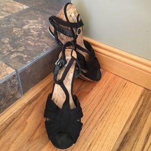 Olsenboye Shoes - Olsenboye cork wedges