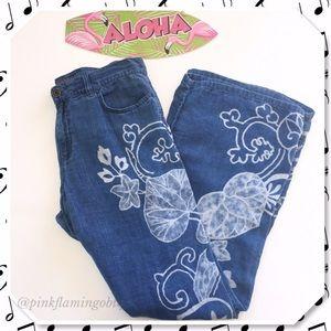 Ralph Lauren Pants - Ralph Lauren Boho High Waist Wide Leg Linen Pants