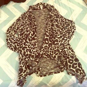 Forever 21 draped cardigan 