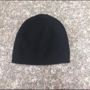 Phenix Accessories - Black Crochet Hat NWOT