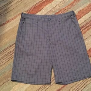 Haggar Other - Plaid dress shorts
