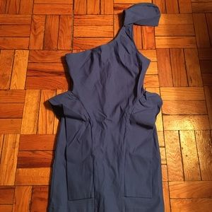 Lulu's Dresses - LULUS NWOT Marry the Night 1-Shoulder Blue Dress