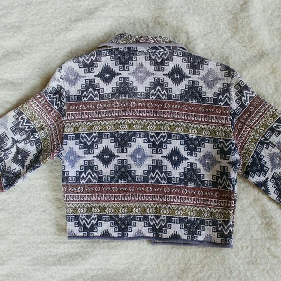 Flashback Jackets & Coats - Super Southwest Vintage Bolero Jacket