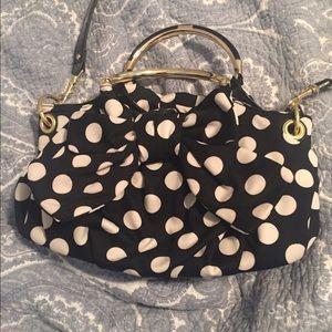 Lulu Handbags - Polkadot lulus bow purse